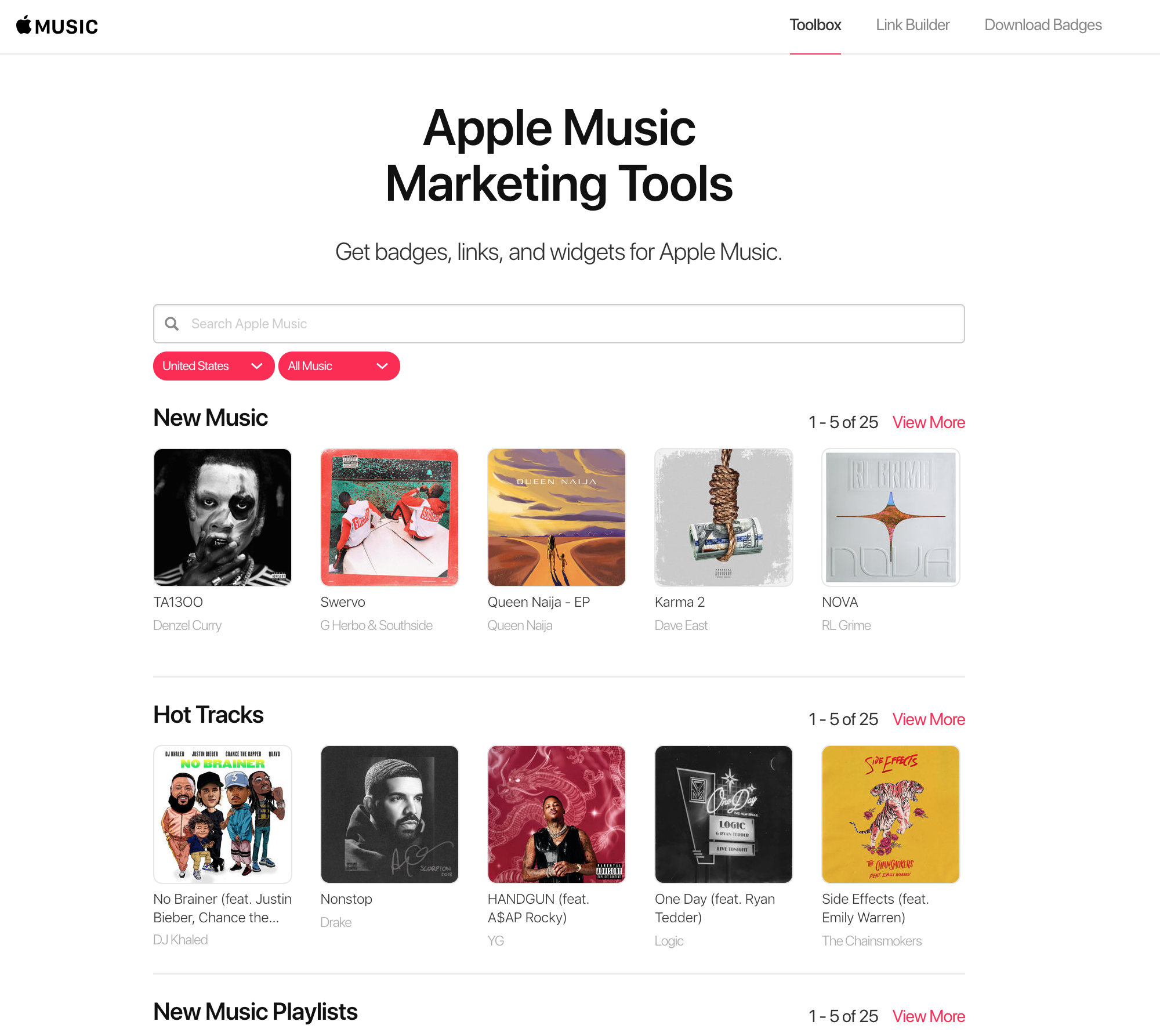 How do I create a shareable Apple Music link? – Label Worx Support